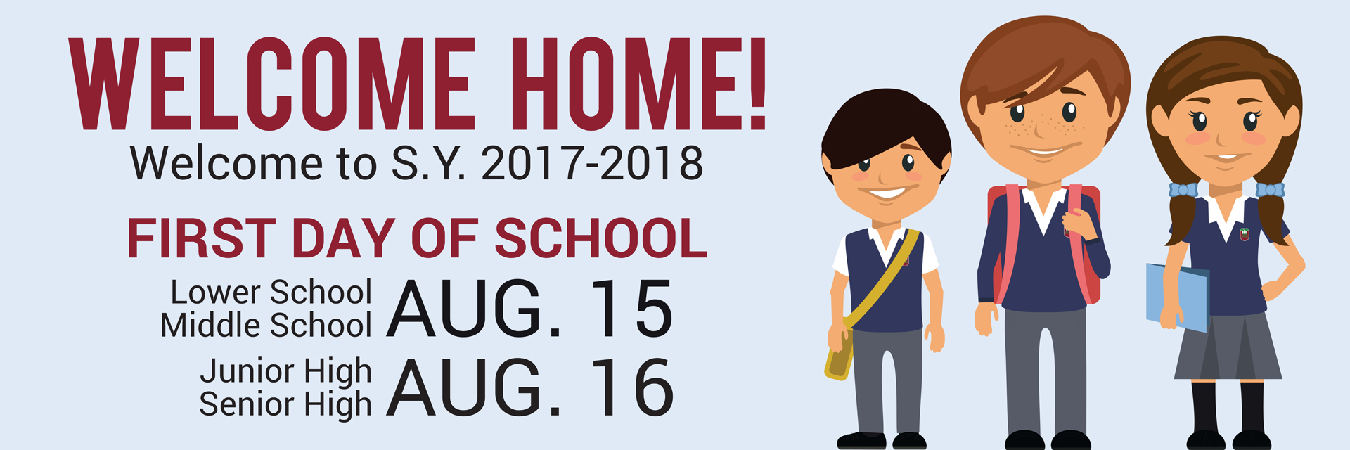 school year 2017 - 2018