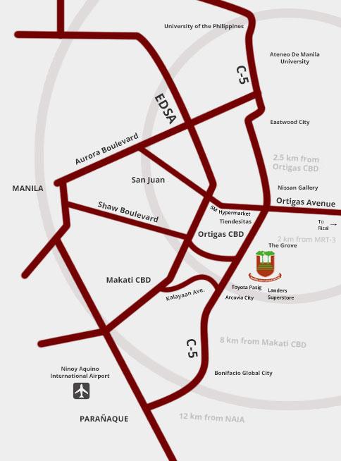 reedleyschool map