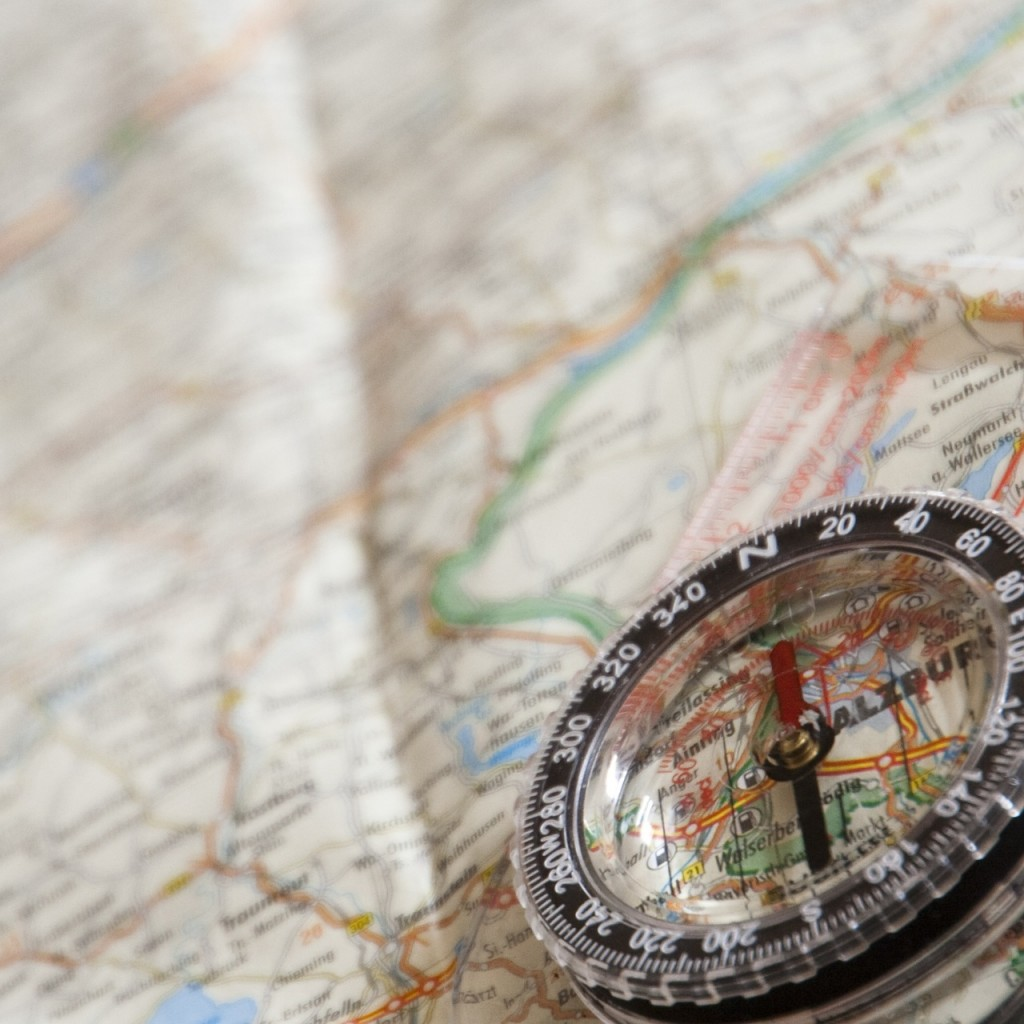 compass exploration map