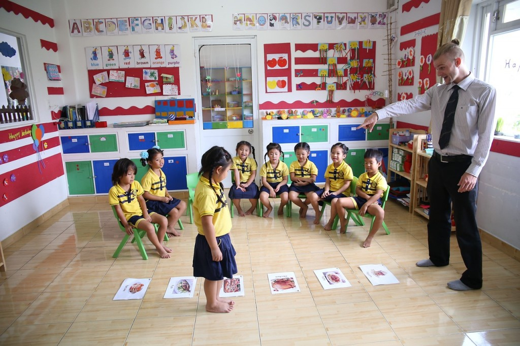 playing games in the classroom