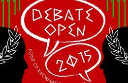 debate open 2015 poster