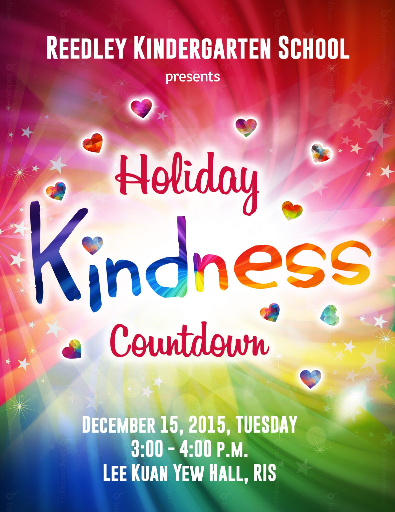 kindergarten kindness RIS