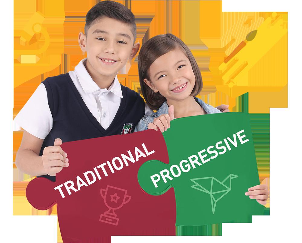 traditional or progressive