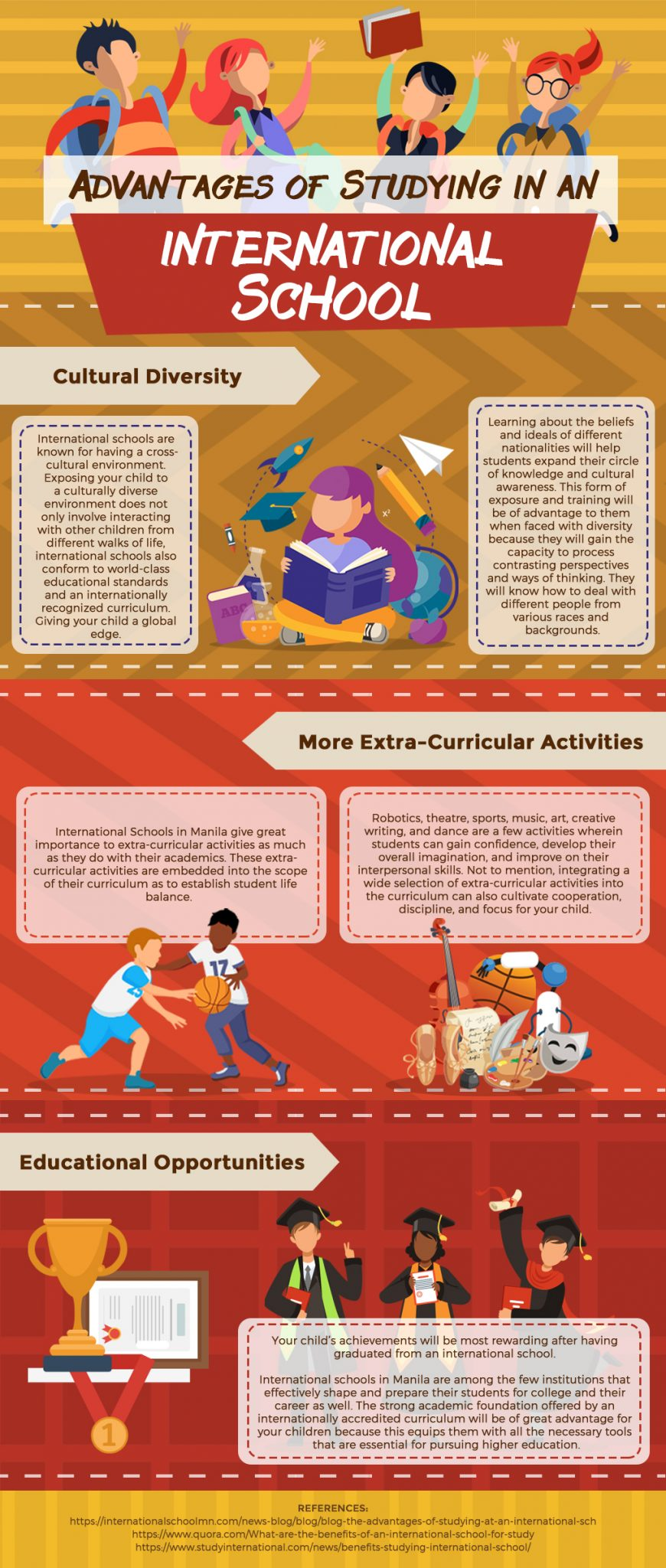 Infog - Advantages of Studying in an International School - Revised